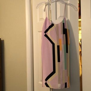 Tibi geometric dress - size 0